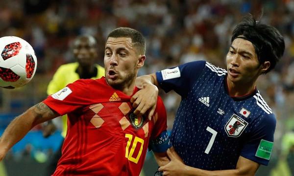 ベルギー 日本 ワールドカップ