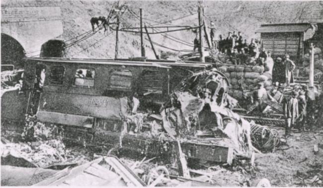 信越本線熊ノ平駅列車脱線事故