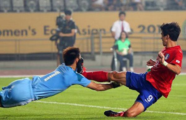 韓国 テコンサッカー
