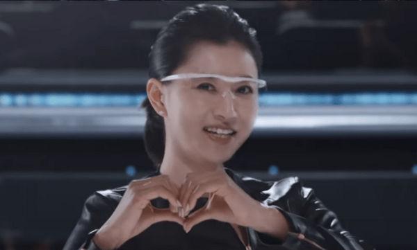 ハズキルーペ 菊川怜