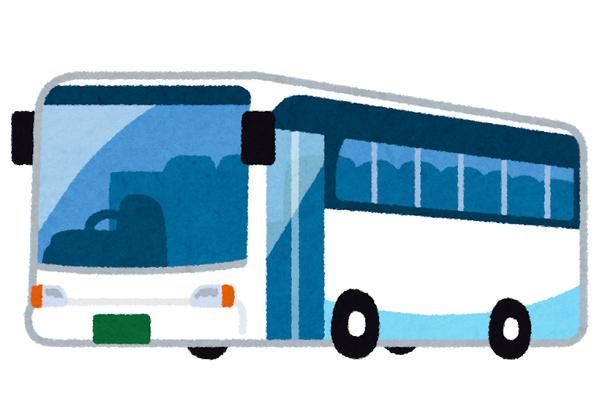 高速バス いらすとや