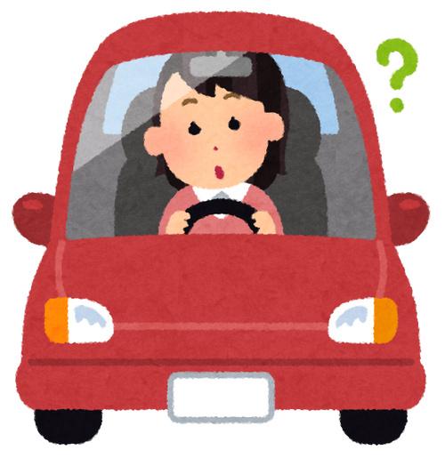 女性運転手 いらすとや