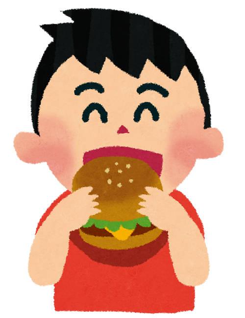 ハンバーガー いらすとや
