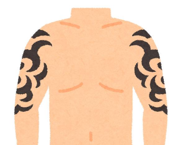 タトゥー 刺青 いらすとや