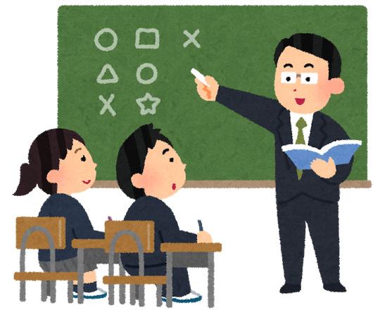 義務教育 教師 学校生活 授業 いらすとや