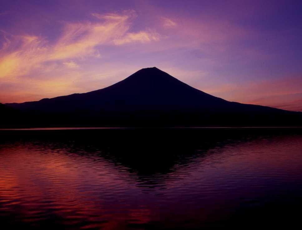 田貫湖朝焼け