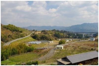 紀の川広域農道(望遠)