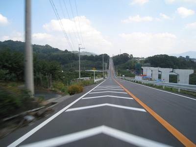紀の川広域農道(ジェットコースター5)