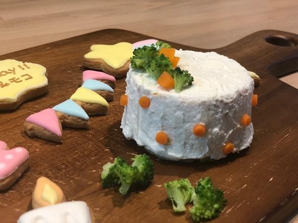 ココ モコ 4歳のお誕生日は初めての手作りケーキ(備忘録)3