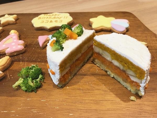 ココ モコ 4歳のお誕生日は初めての手作りケーキ(備忘録)4