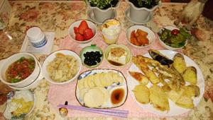 天ぷら&筍色々