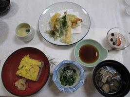 天ぷら膳1944円