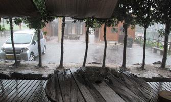 180723 下見 土砂降り