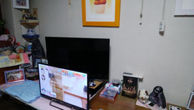 ダブルのTV