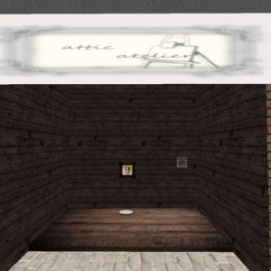 attic atelier booth