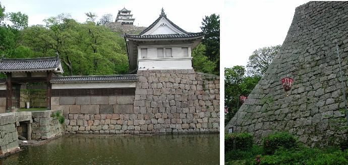 丸亀城 2003年