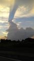 2018年8月26日夕方見かけた雲1