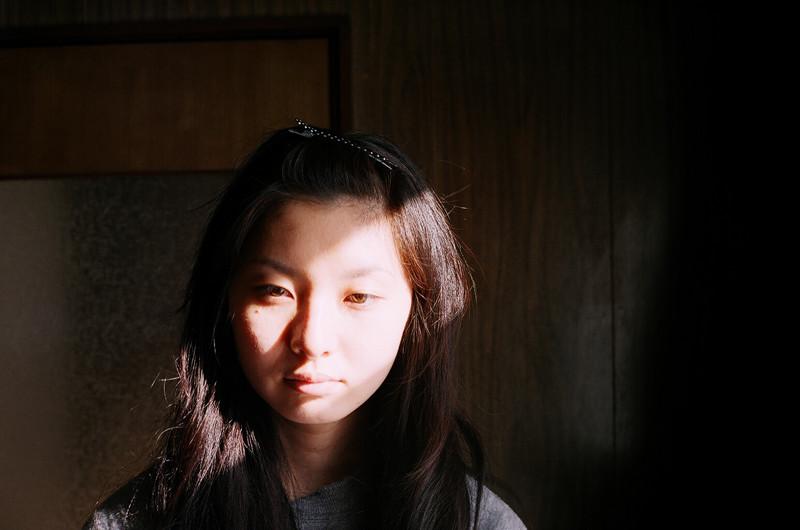 $フィルムカメラで嫁を撮る-写真の師匠