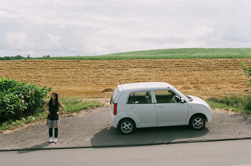 $フィルムカメラで嫁を撮る -YOME--愛車と愛妻