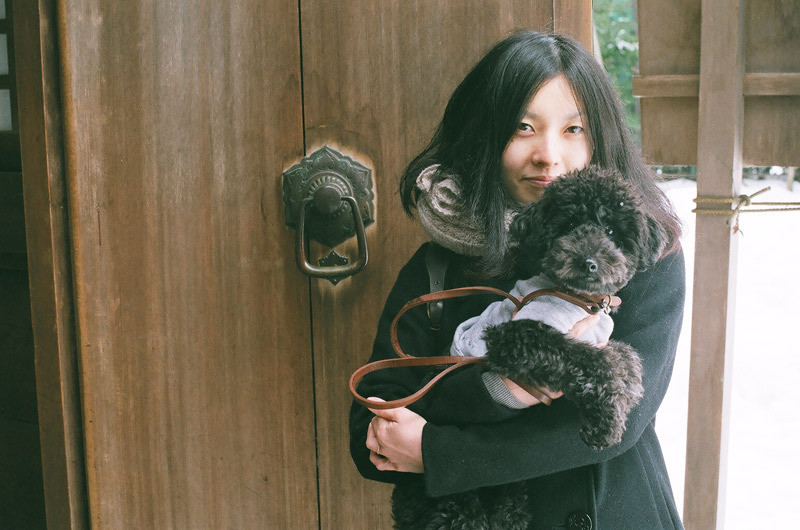 フィルムカメラで嫁を撮る -YOME--雄山神社