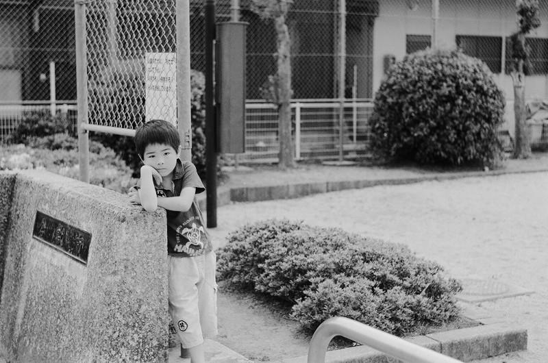 $フィルムカメラで嫁を撮る -YOME--子供の眼