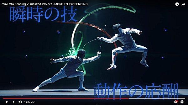 フェンシングの視覚化