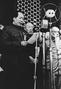 毛沢東 抗日戦線宣言