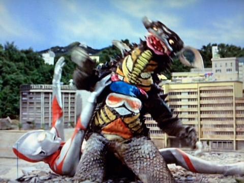 『ウルトラマン』 第11話 「宇宙から来た暴れん坊」  脳波怪獣 ギャンゴ