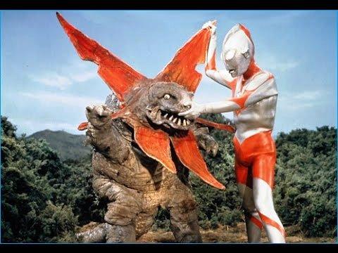 『ウルトラマン』 第9話 「電光石火作戦」  ウラン怪獣 ガボラ