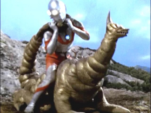『ウルトラマン』 第29話 「地底への挑戦」  黄金怪獣 ゴルドン
