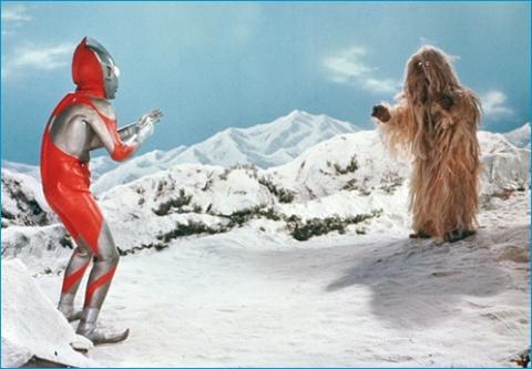 『ウルトラマン』 第30話 「まぼろしの雪山」  伝説怪獣 ウー