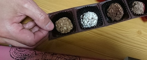 チョコレートとか
