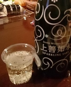 しゅわしゅわな日本酒
