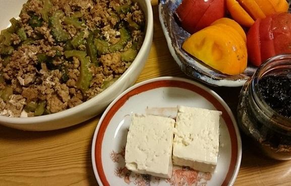 ゴーヤー炒り豆腐