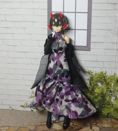 30_7_12 メガミデバイス用 紫色のドレス 3