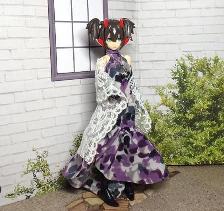 30_7_12 メガミデバイス用 紫色のドレス 4