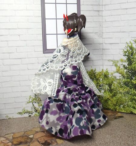 30_7_12 メガミデバイス用 紫色のドレス 5