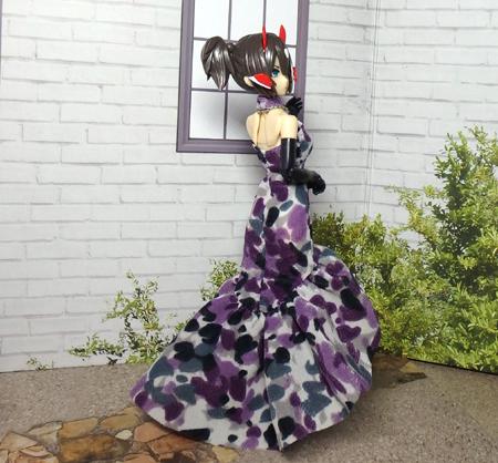 30_7_12 メガミデバイス用 紫色のドレス 7
