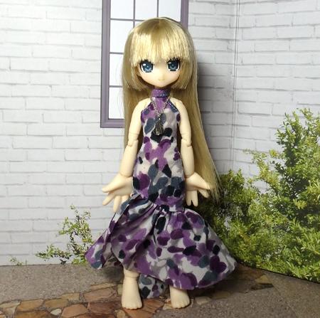 30_7_12 メガミデバイス用 紫色のドレス 9
