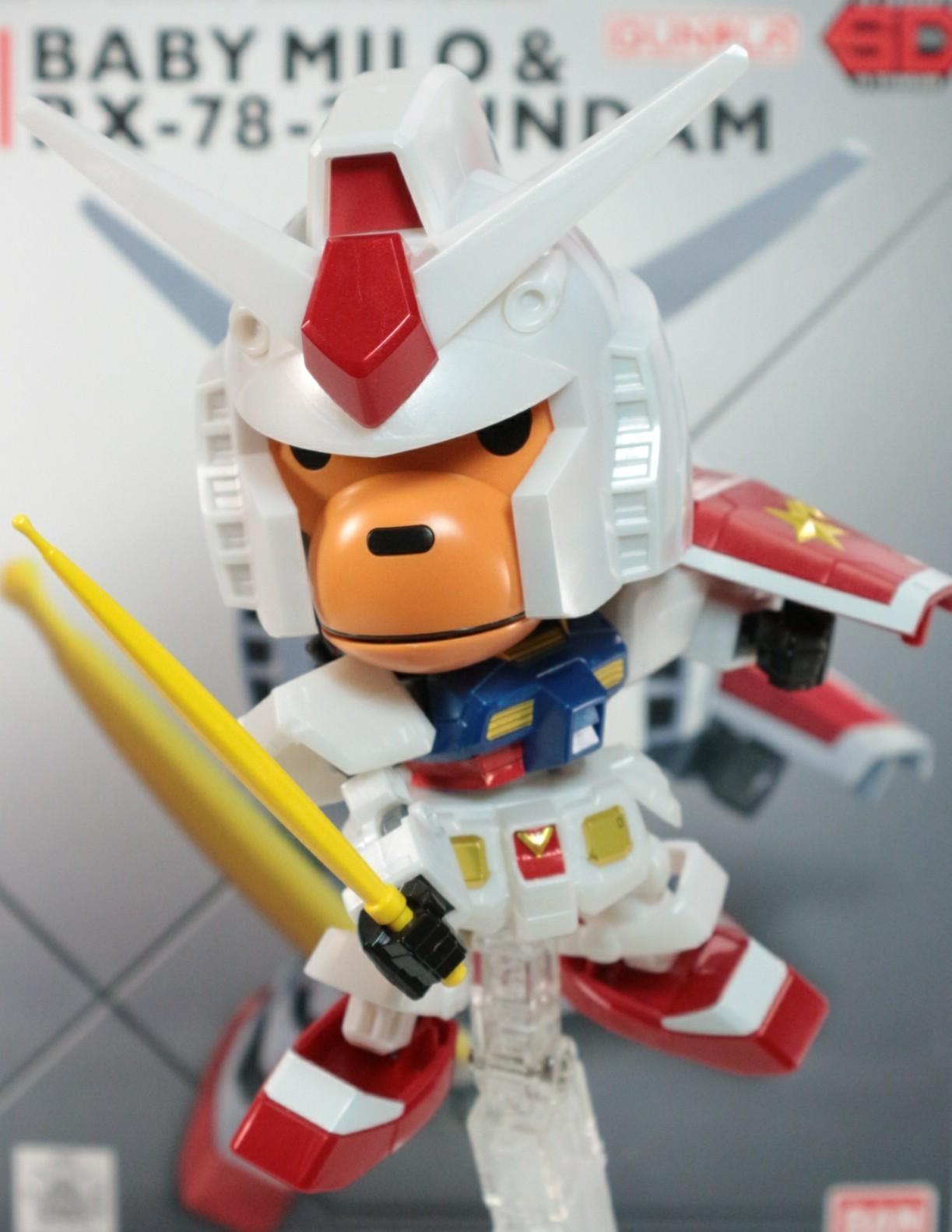 ベイビーマイロ&RX-78-2ガンダム EX-スタンダード