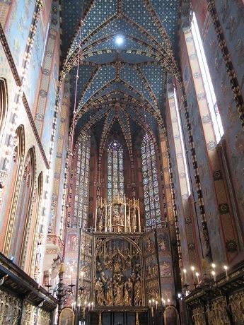 聖マリア教会天井