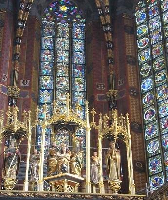 聖マリア教会ステンドグラス