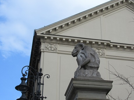 Chimeraの彫刻