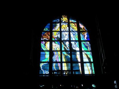 フランシスカン教会ステンドグラス1