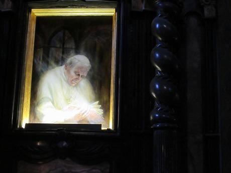 フランシスカン教会ヨハネパウロ二世