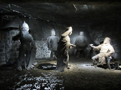 ヴィエリチカ岩塩坑 伝説