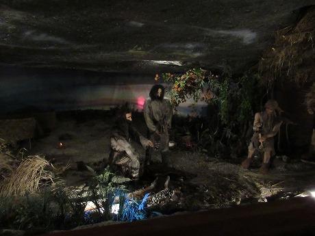 ヴィエリチカ岩塩坑 昔の様子