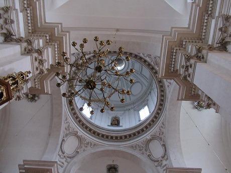 ヴァヴェル大聖堂天井
