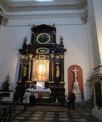 ヴァヴェル大聖堂キリスト?