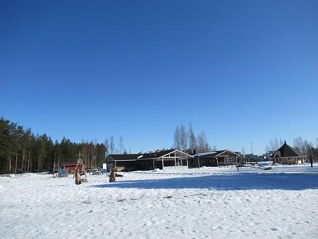 青空と雪景色2